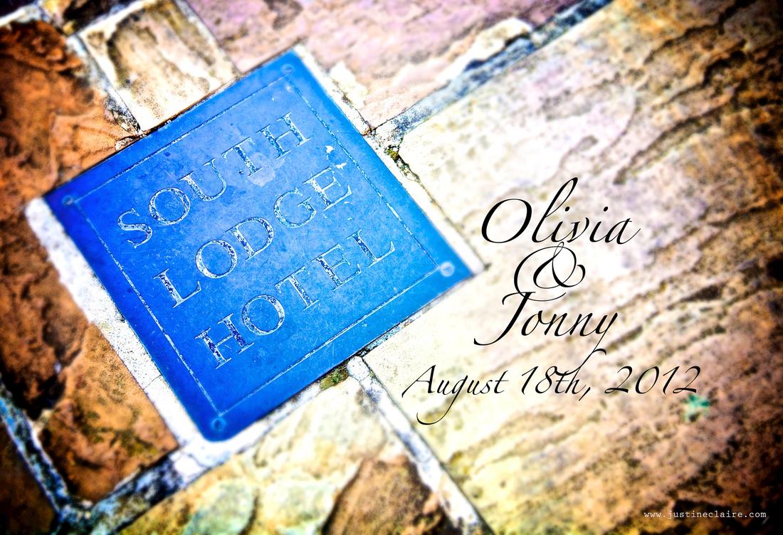 Livi Jonny album pages South Lodge Wedding  0001