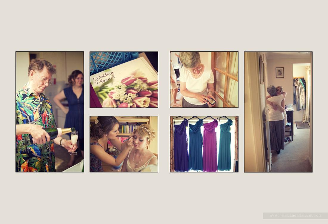 Livi Jonny album pages South Lodge Wedding  0004