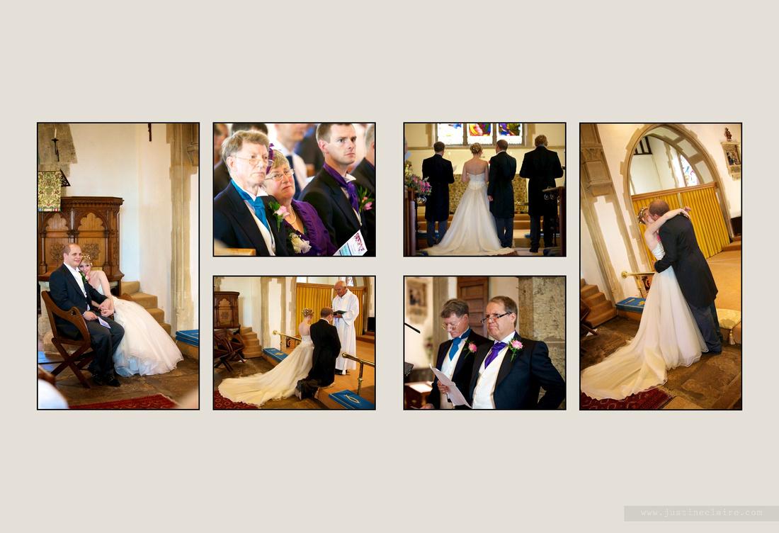 Livi Jonny album pages South Lodge Wedding  0009
