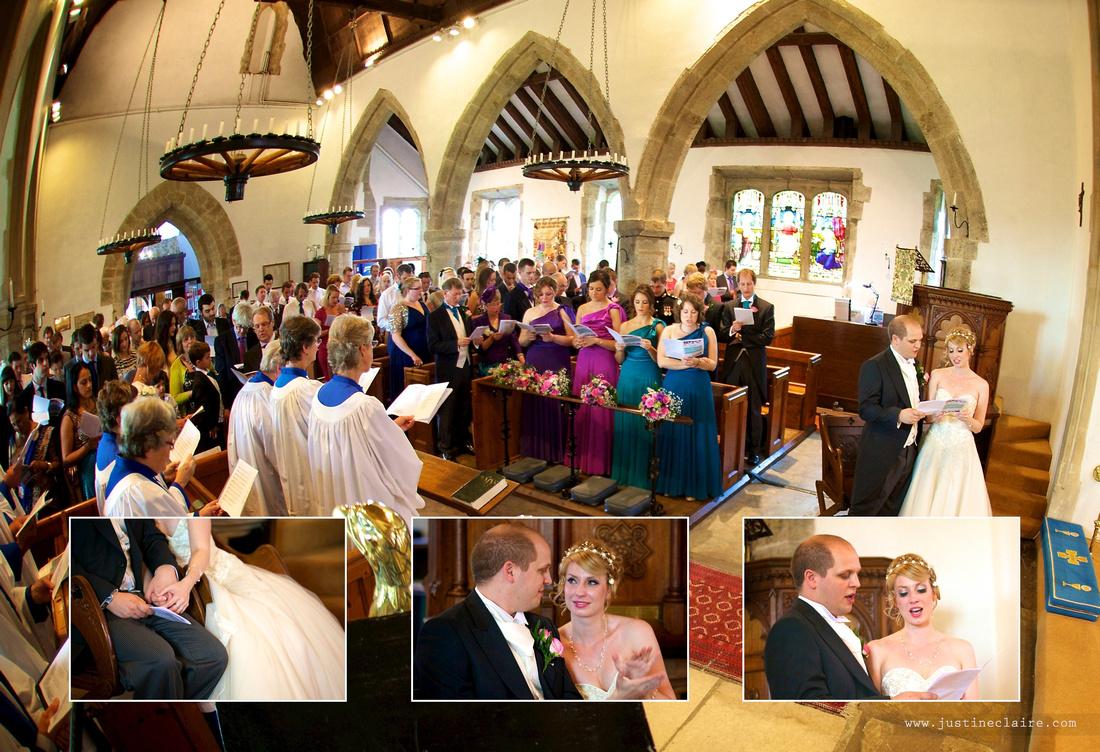 Livi Jonny album pages South Lodge Wedding  0010