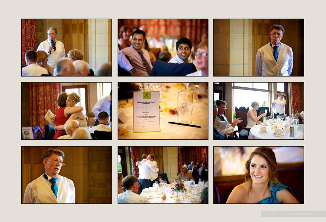 Livi Jonny album pages South Lodge Wedding  0018
