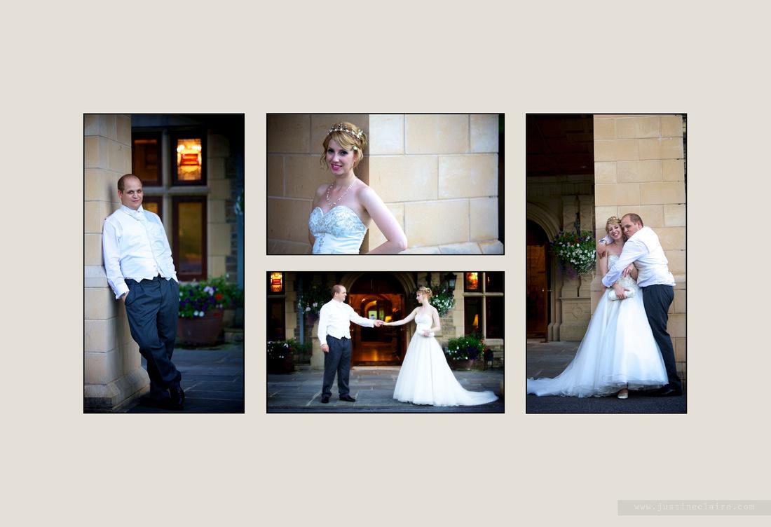 Livi Jonny album pages South Lodge Wedding  0025