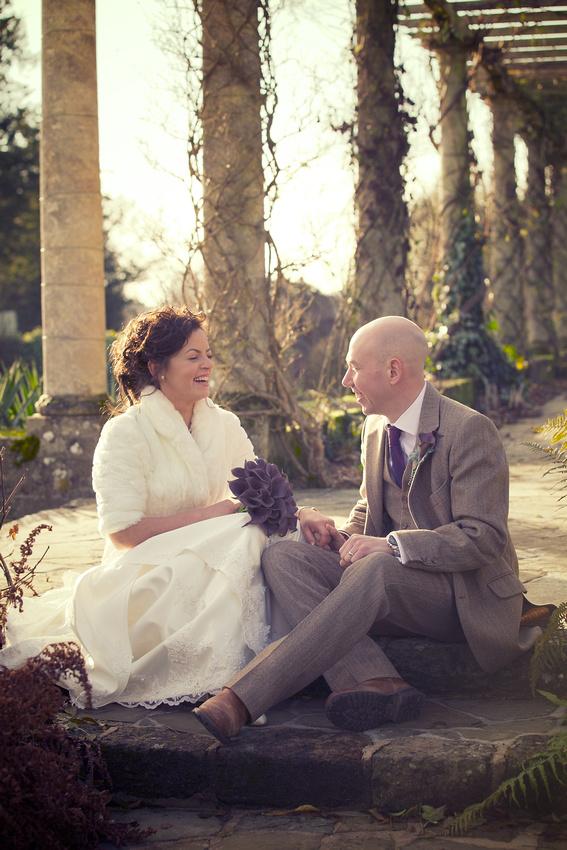 West Dean Gardens Wedding Photographs