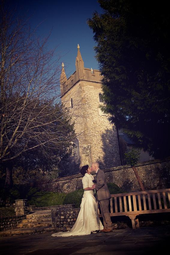 West Dean College Wedding Photographers