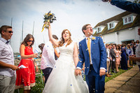 Laura & Greg Itchenor Sailing Club Wedding