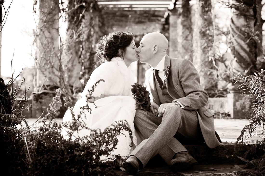 West Dean Gardens College Wedding Photographers West sussex