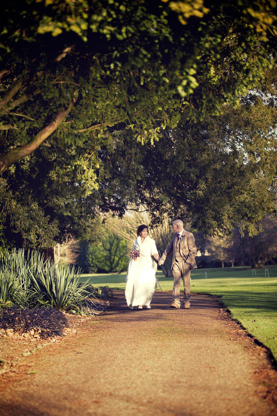 West Dean Gardens Wedding Photographs