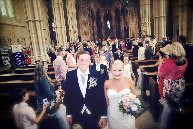 Arundel Cathedral Wedding - Amy Beau 0310