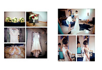 Southend Barns Wedding Photography - Lucy Mark album draft